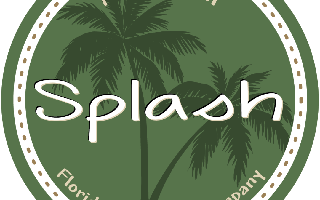 Splash Soap Label Design
